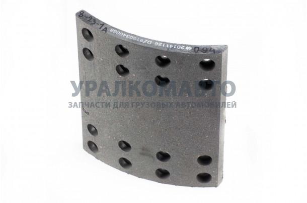 накладка тормозная задняя 220x185 (16 отверстий) DONG FENG DZ9160340068
